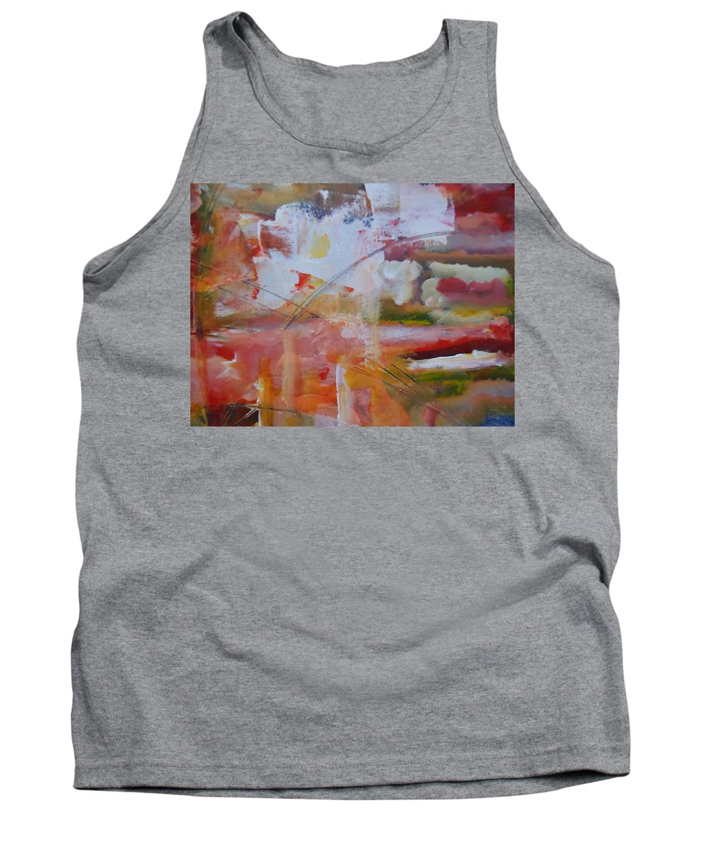 Abstract Tank Top featuring the painting Twisted by Lord Frederick Lyle Morris