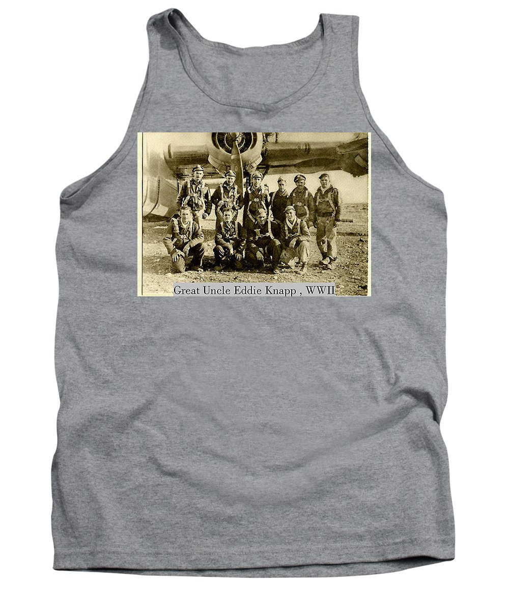 Tank Top featuring the photograph Uncle Eddie Pilot by Rich Franco