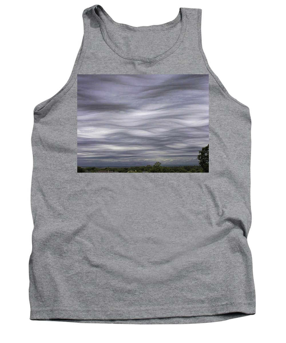 Clouds Tank Top featuring the photograph Undulatus Asperatus Skies 3 by Shannon Story