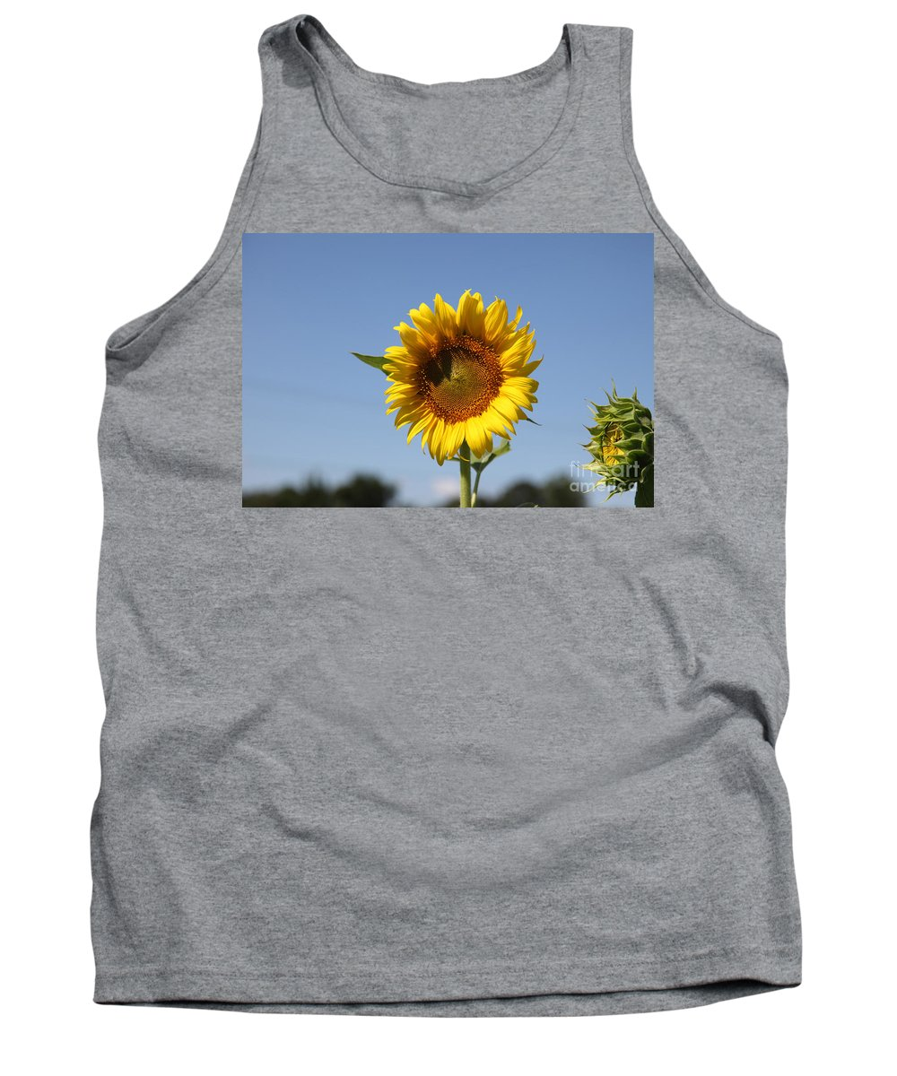 Sunflowers Tank Top featuring the photograph United Through Challenge by Amanda Barcon