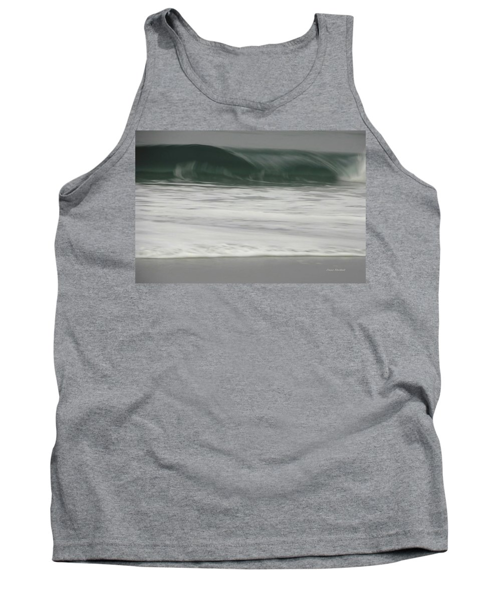 Ocean Tank Top featuring the photograph Upper Crest by Donna Blackhall