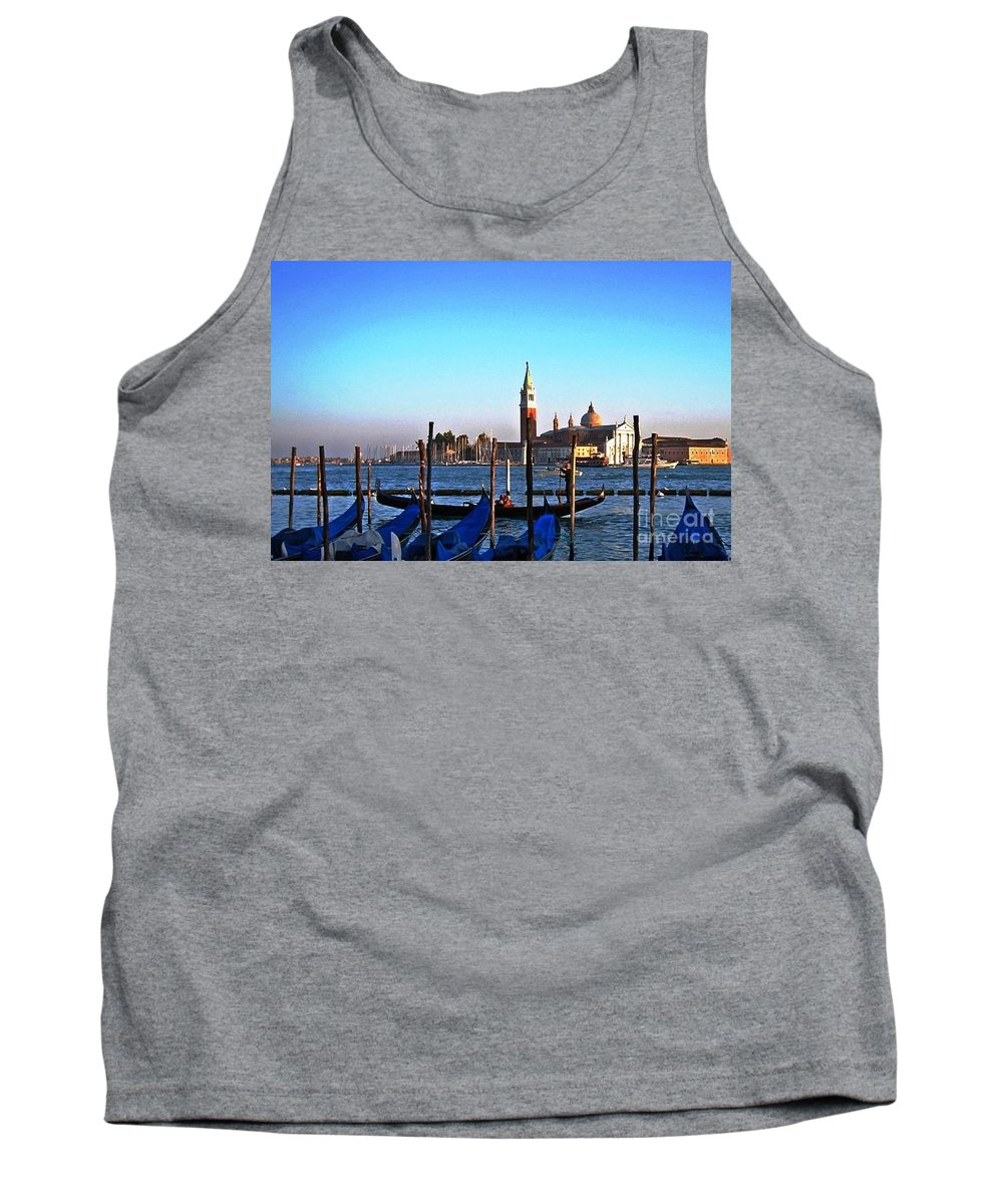 Water Canal Tank Top featuring the photograph Venezia City Of Islands by Phillip Allen