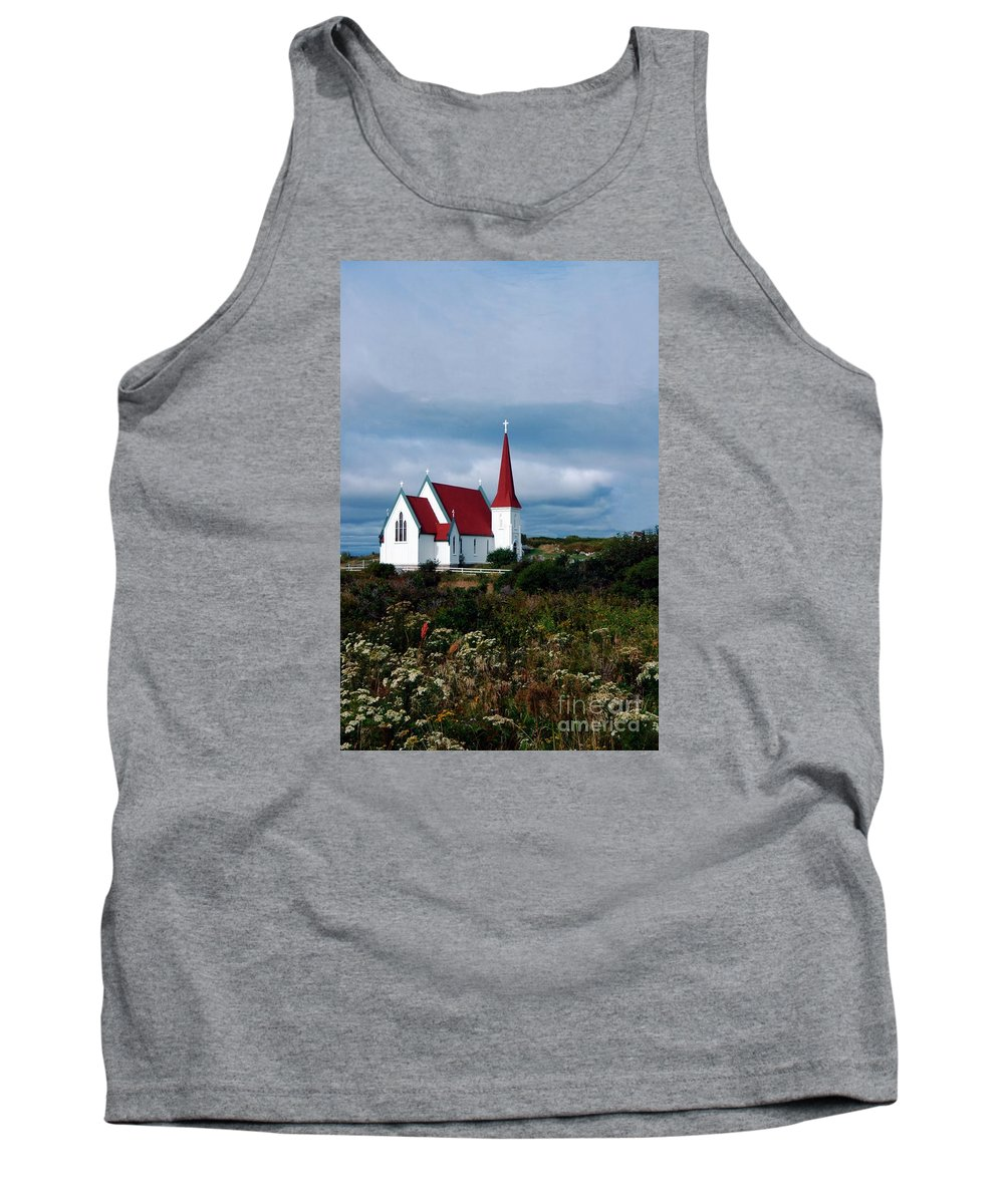 Nova Tank Top featuring the photograph Village Church by Kathleen Struckle