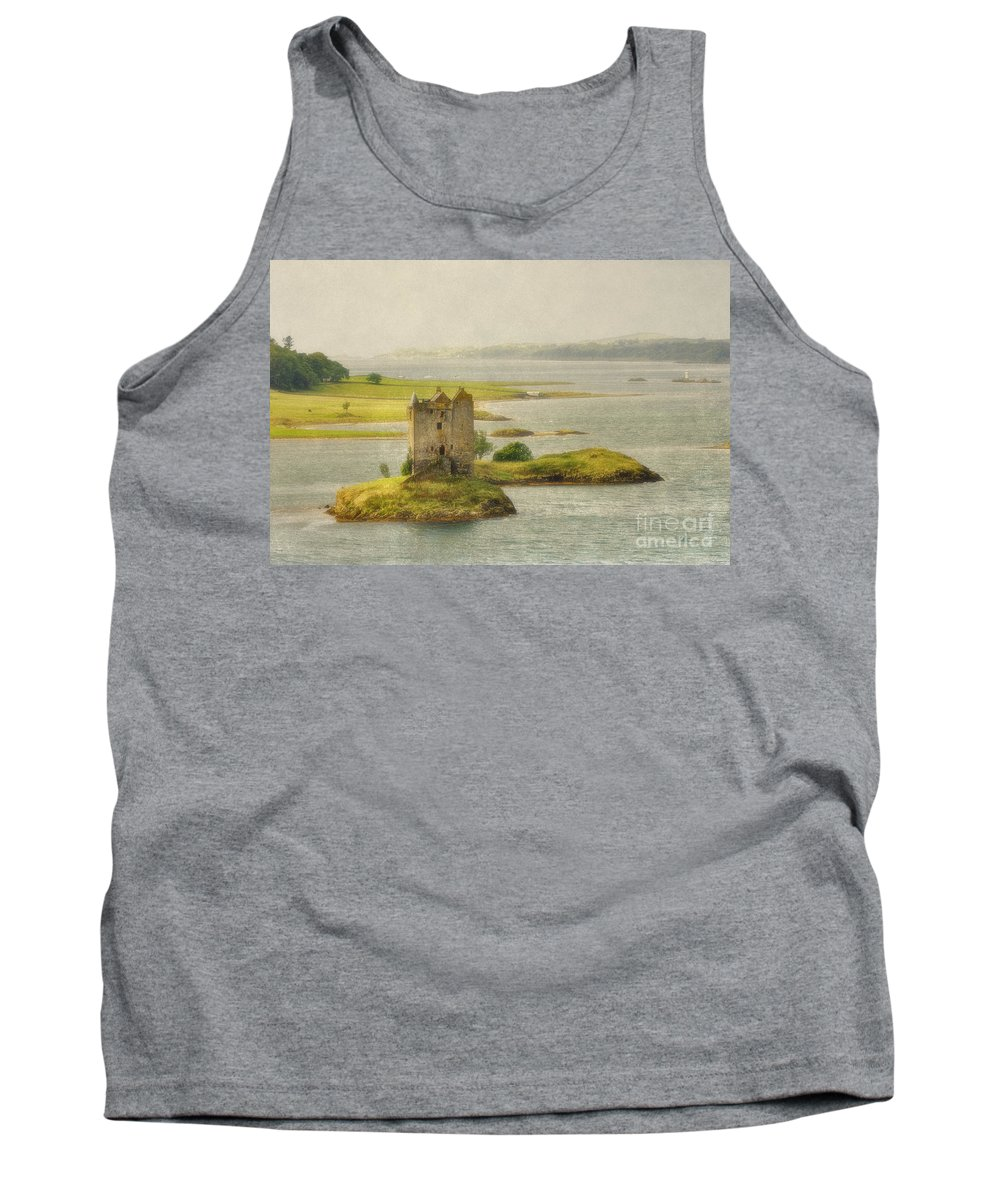 Texture Tank Top featuring the photograph Vintage Stalker - D002482-a by Daniel Dempster