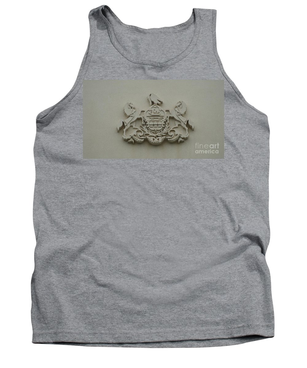 Virtue Tank Top featuring the photograph Virtue Liberty Independence by Rob Luzier