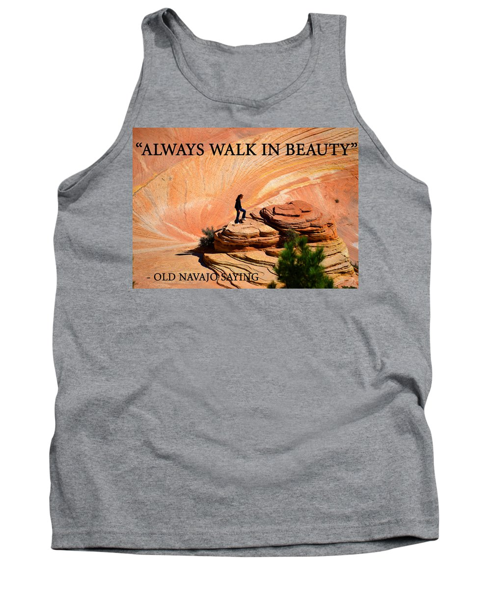 Walking In Beauty Tank Top featuring the photograph Walk In Beauty by David Lee Thompson