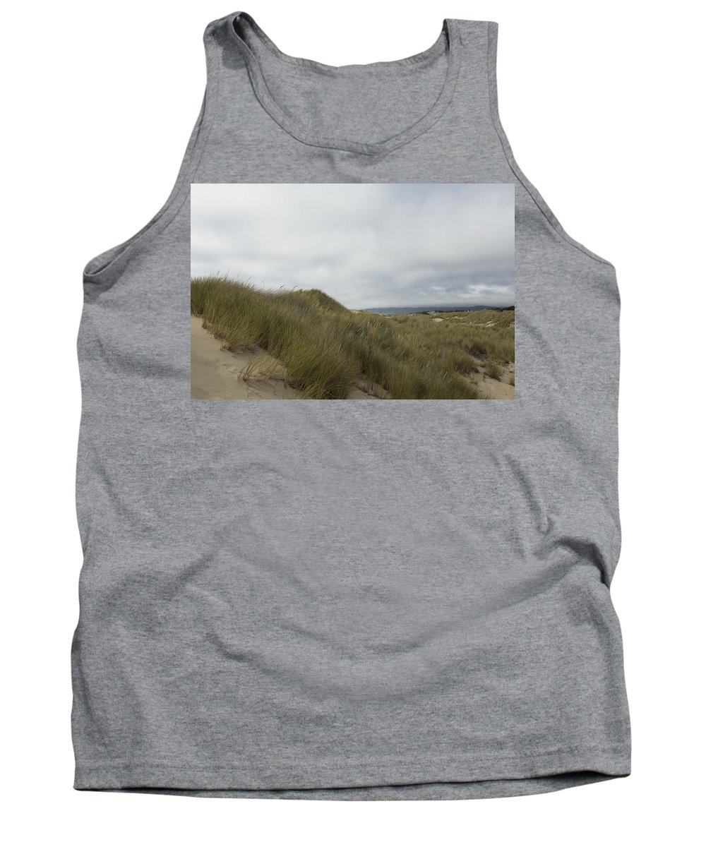 Sand Dunes Tank Top featuring the photograph Walking The Dunes by Belinda Greb