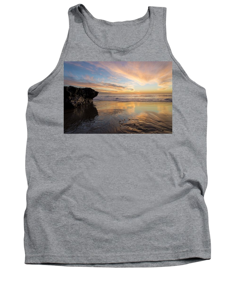 Sunset Tank Top featuring the photograph Warm Glow Of Memory by Alex Lapidus