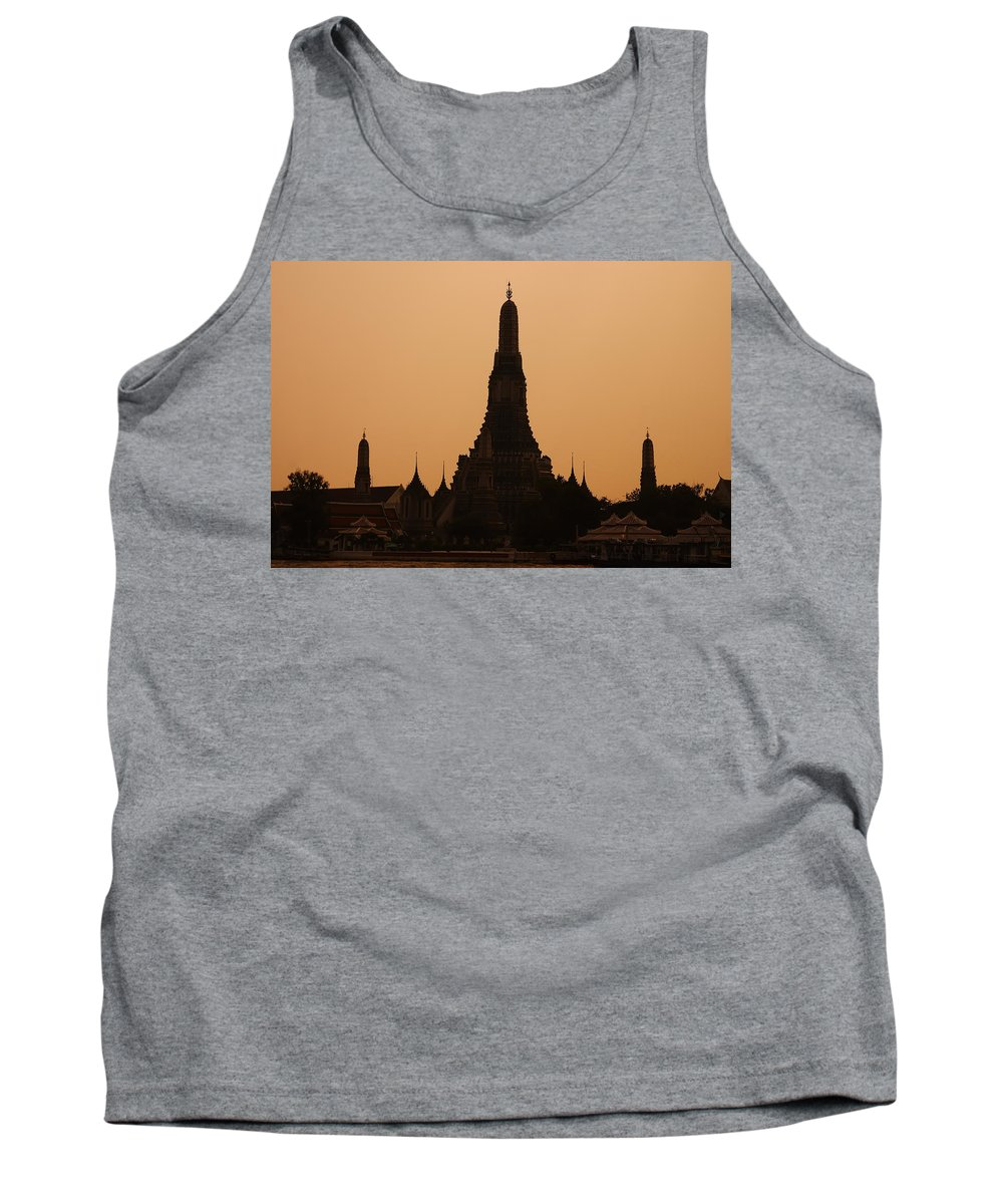 3scape Photos Tank Top featuring the photograph Wat Arun by Adam Romanowicz