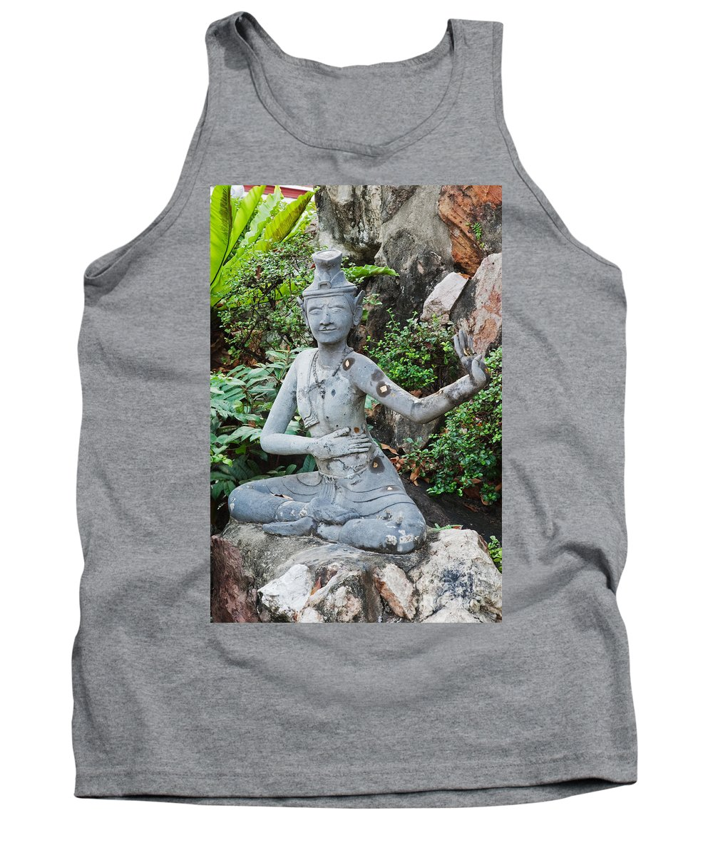 Ornate Tank Top featuring the photograph Wat Pho by David Davis