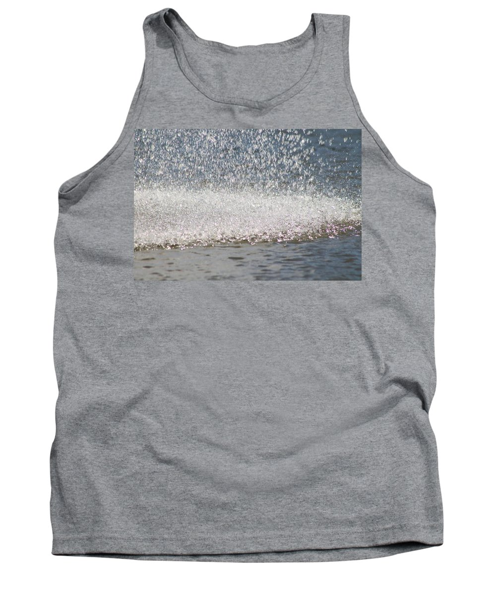 Water Tank Top featuring the photograph Water Fountain by Mary Koval
