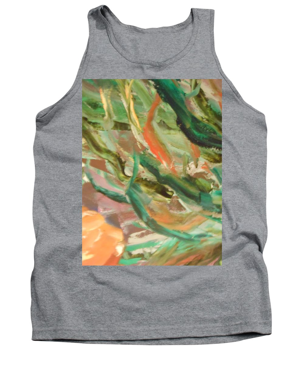Abstract Tank Top featuring the painting Waves by Lord Frederick Lyle Morris