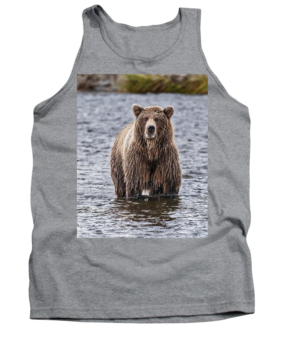Wild Tank Top featuring the photograph Which Way Did They Go by Gary Langley