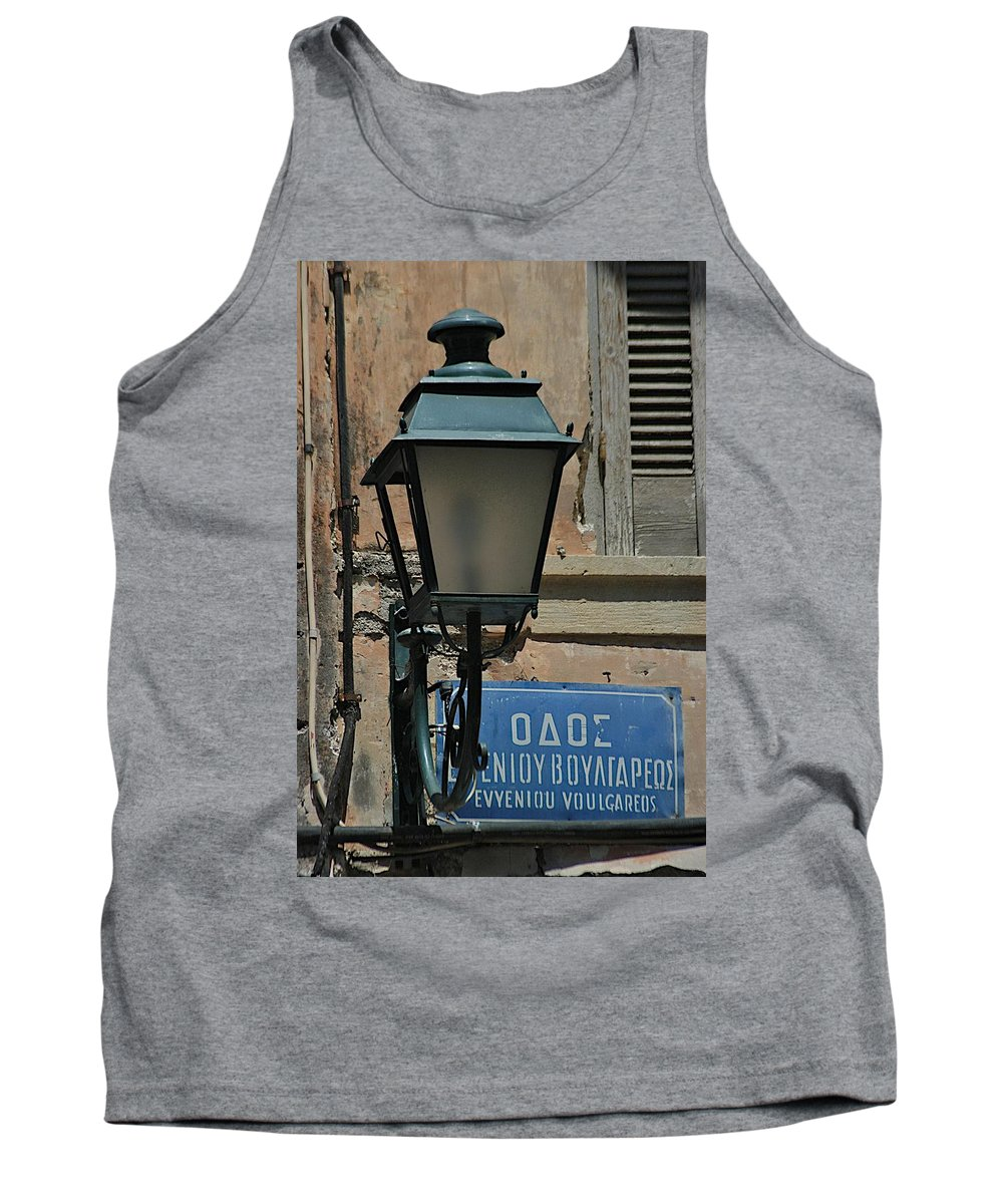 Balcony Tank Top featuring the photograph Which Way by Joseph Yarbrough
