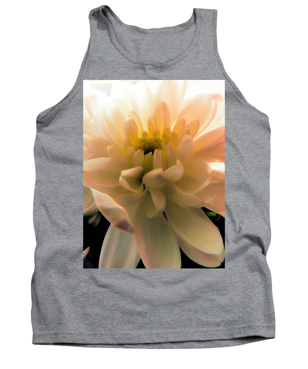 White Daisy Tank Top featuring the photograph White Daisy by Tracey Beer