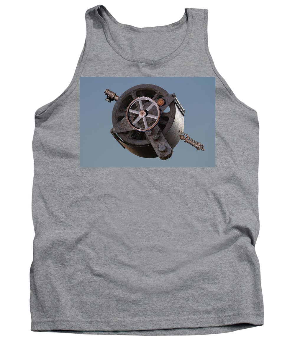 Montage Tank Top featuring the photograph Widget by Greg Wells