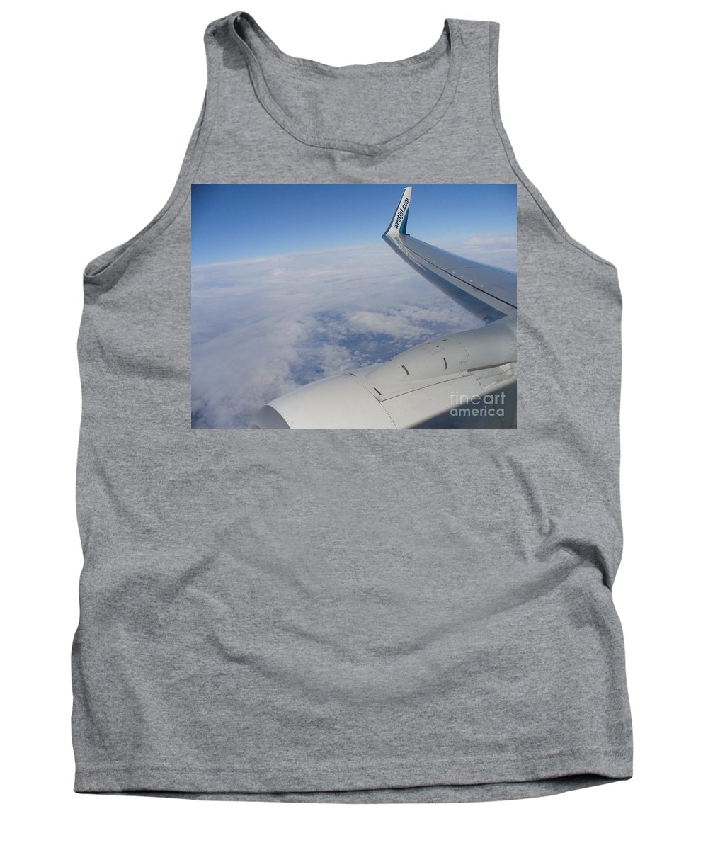 Aerial View Photograph Tank Top featuring the photograph Wind Beneath My Wings by Lingfai Leung