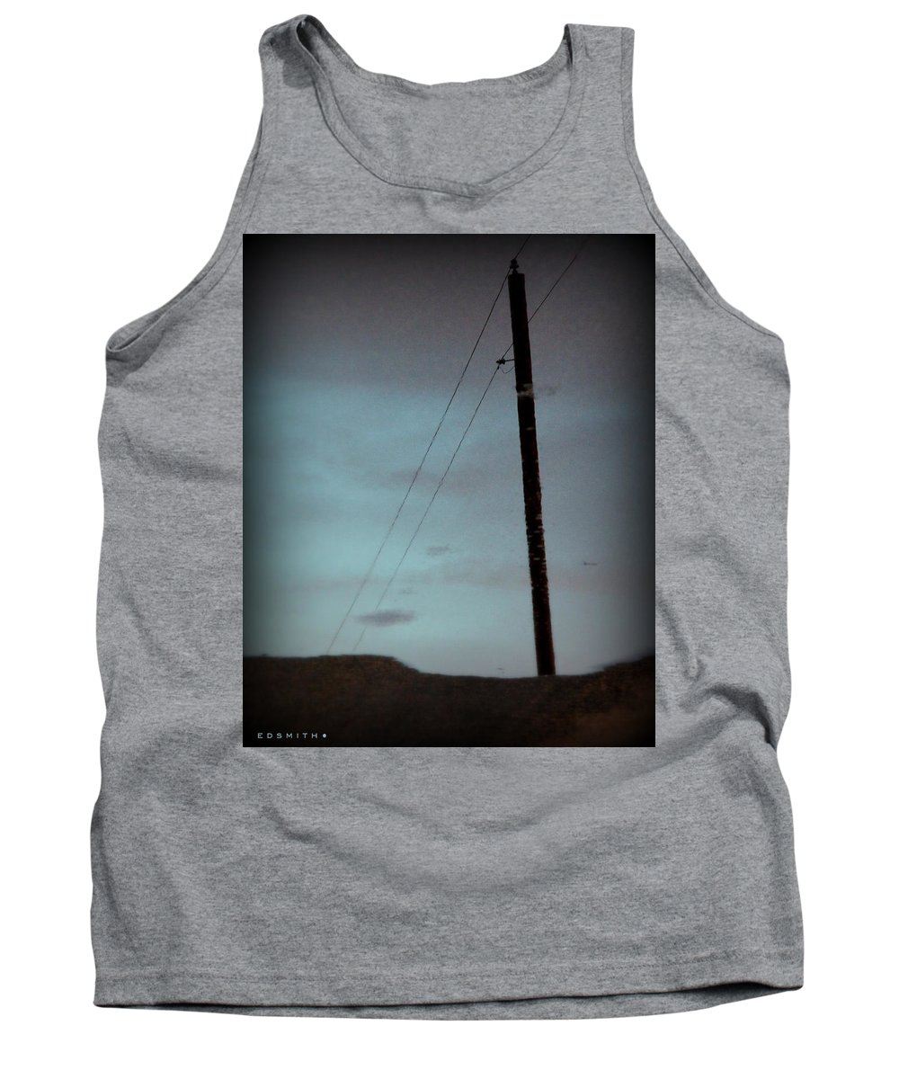 Wireless Tank Top featuring the photograph Wireless by Ed Smith