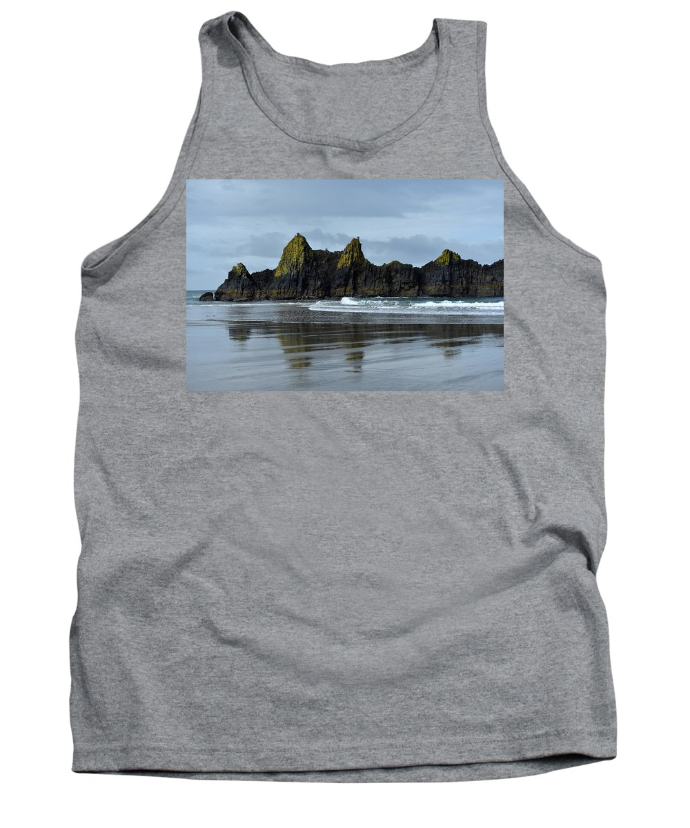 Seal Rock Tank Top featuring the photograph Wonders Of The Ocean by Image Takers Photography LLC - Carol Haddon