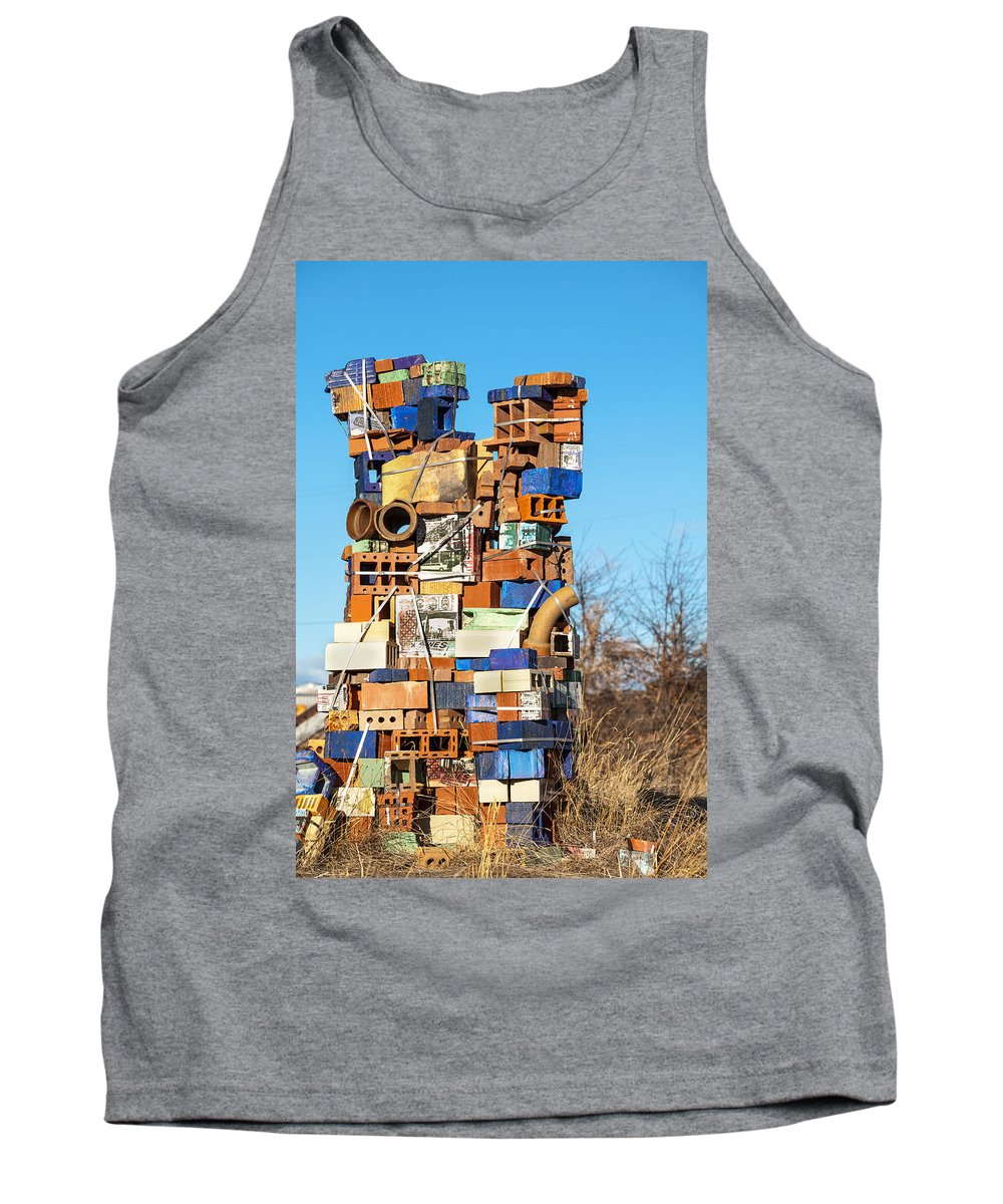 Wrap It Up Tank Top featuring the photograph Wrap It Up by Fran Riley