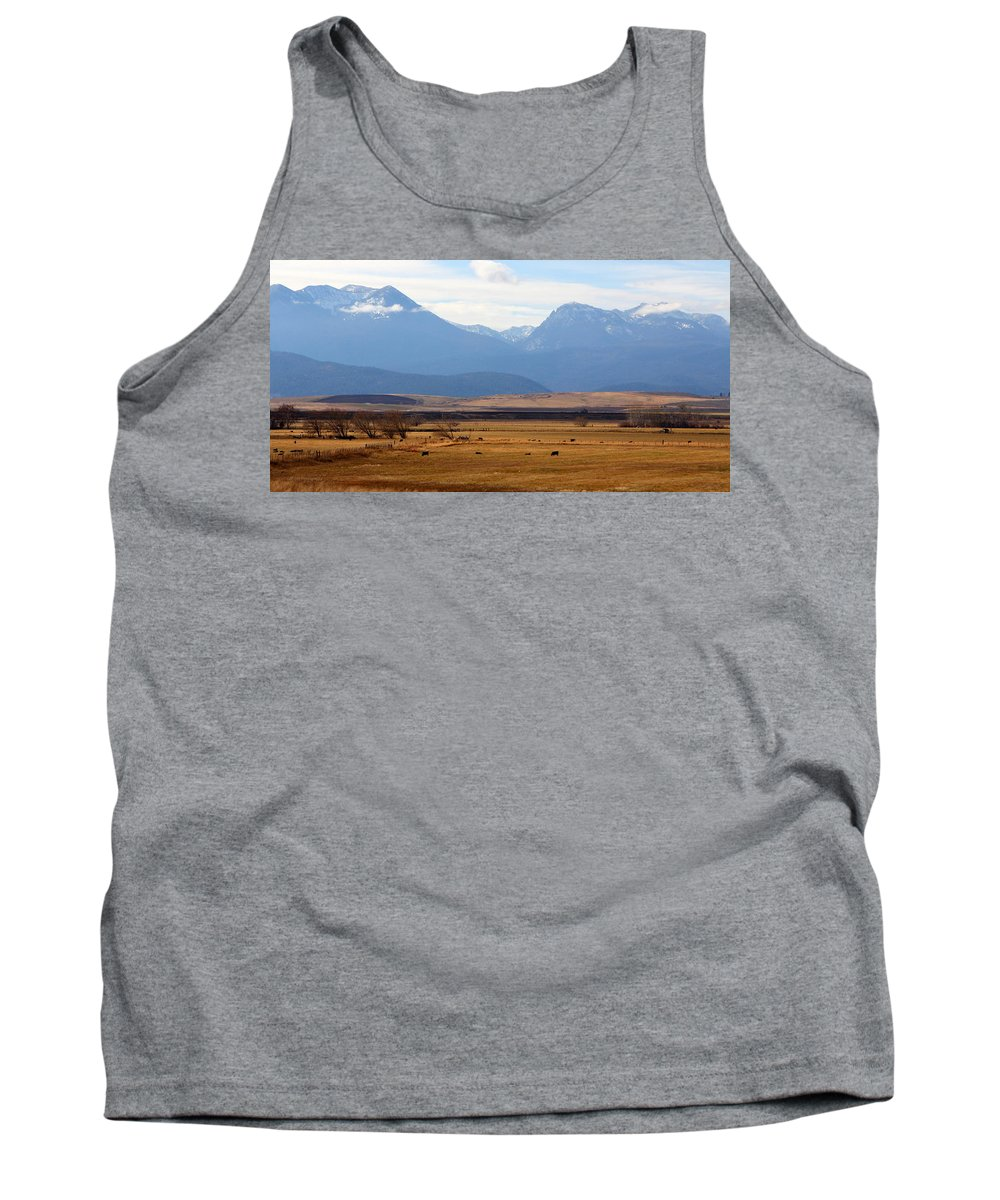 Prairie Tank Top featuring the photograph Wyoming Beauty Two by Jeanette C Landstrom