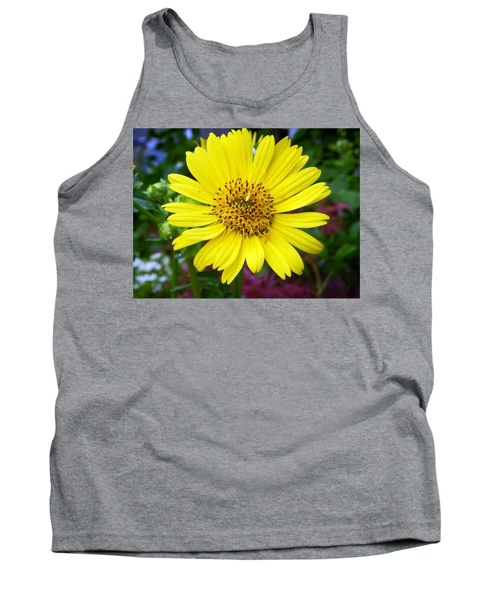 Flower Tank Top featuring the photograph Yellow Glory by Aimee L Maher ALM GALLERY