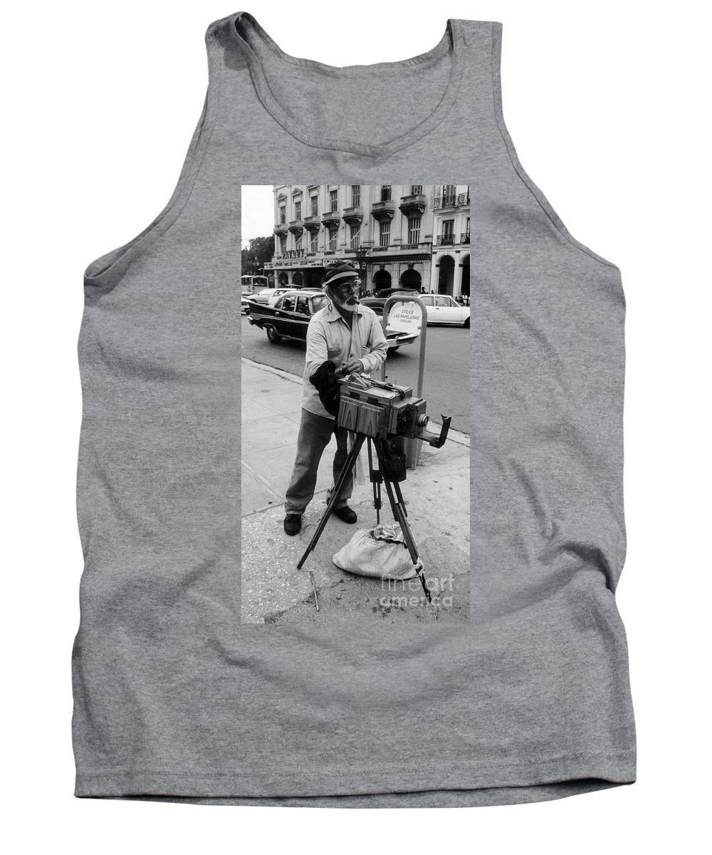 Photography Tank Top featuring the photograph Yep We Both Still Work by John Malone
