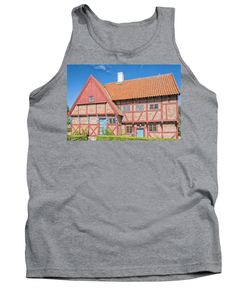 House Tank Top featuring the photograph Ystad Old Mayors House by Antony McAulay