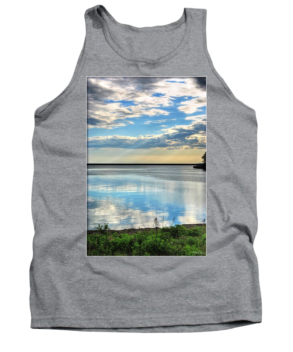 Tank Top featuring the photograph 02 Reflecting by Michael Frank Jr