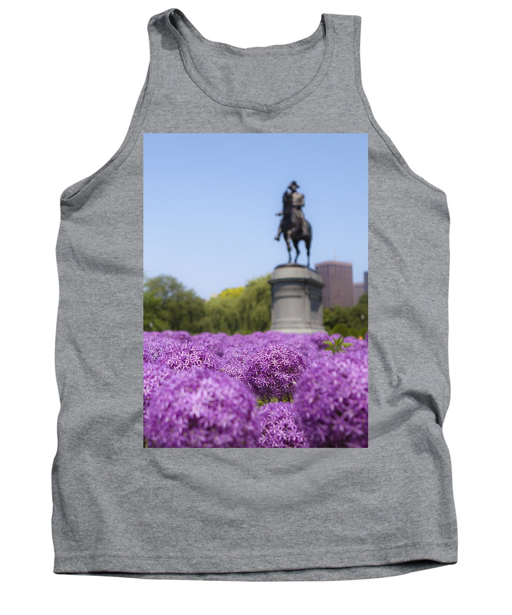 Giant Tank Top featuring the photograph Allium Flower At The Boston Common by Jiayin Ma