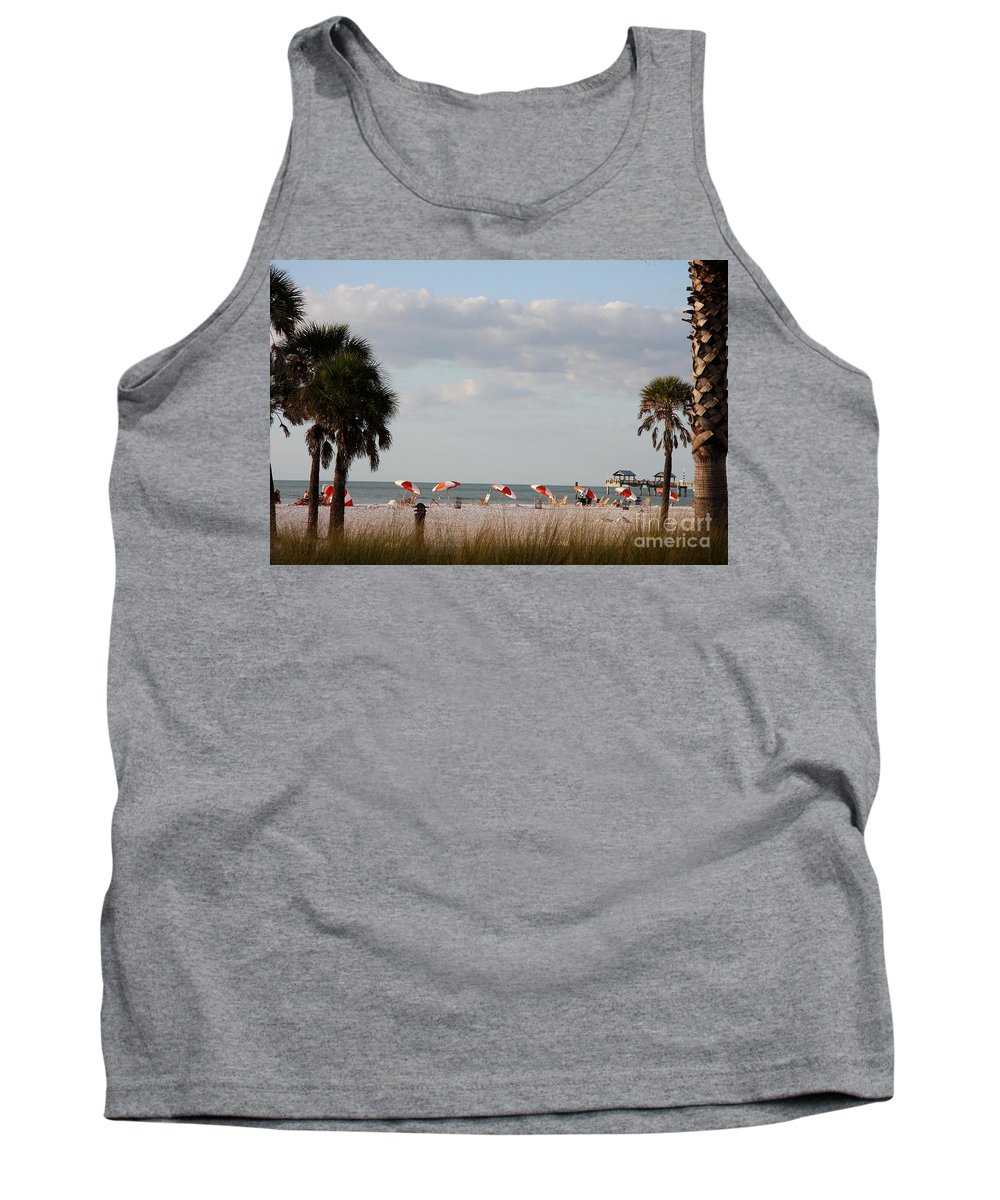 Beach Tank Top featuring the photograph Beach Life by Christiane Schulze Art And Photography