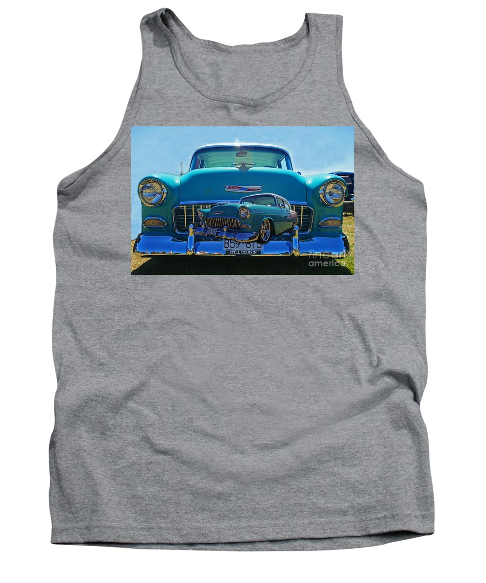 Cars Tank Top featuring the photograph Cadp0738-12 by Randy Harris