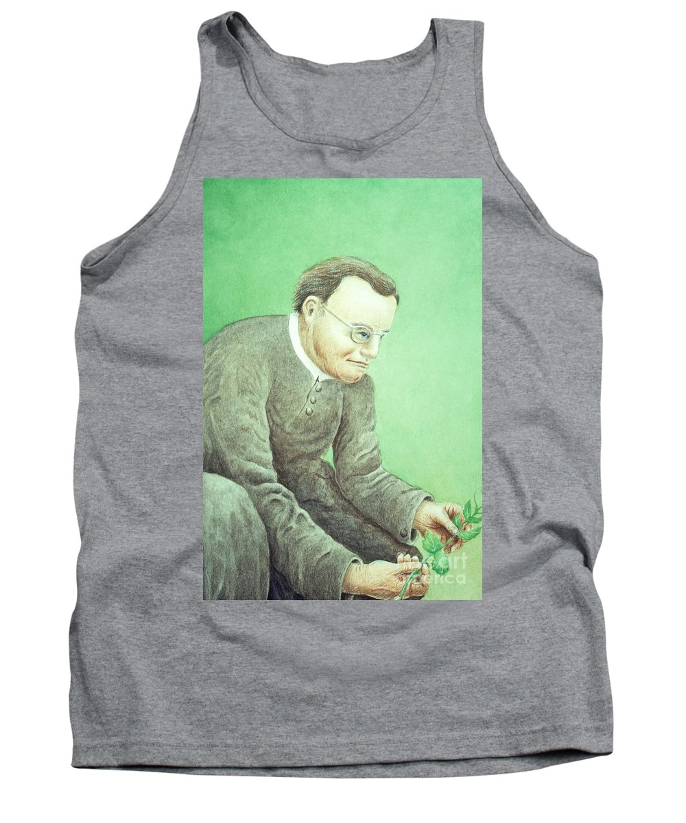Science Tank Top featuring the photograph Gregor Mendel, Father Of Genetics by Science Source