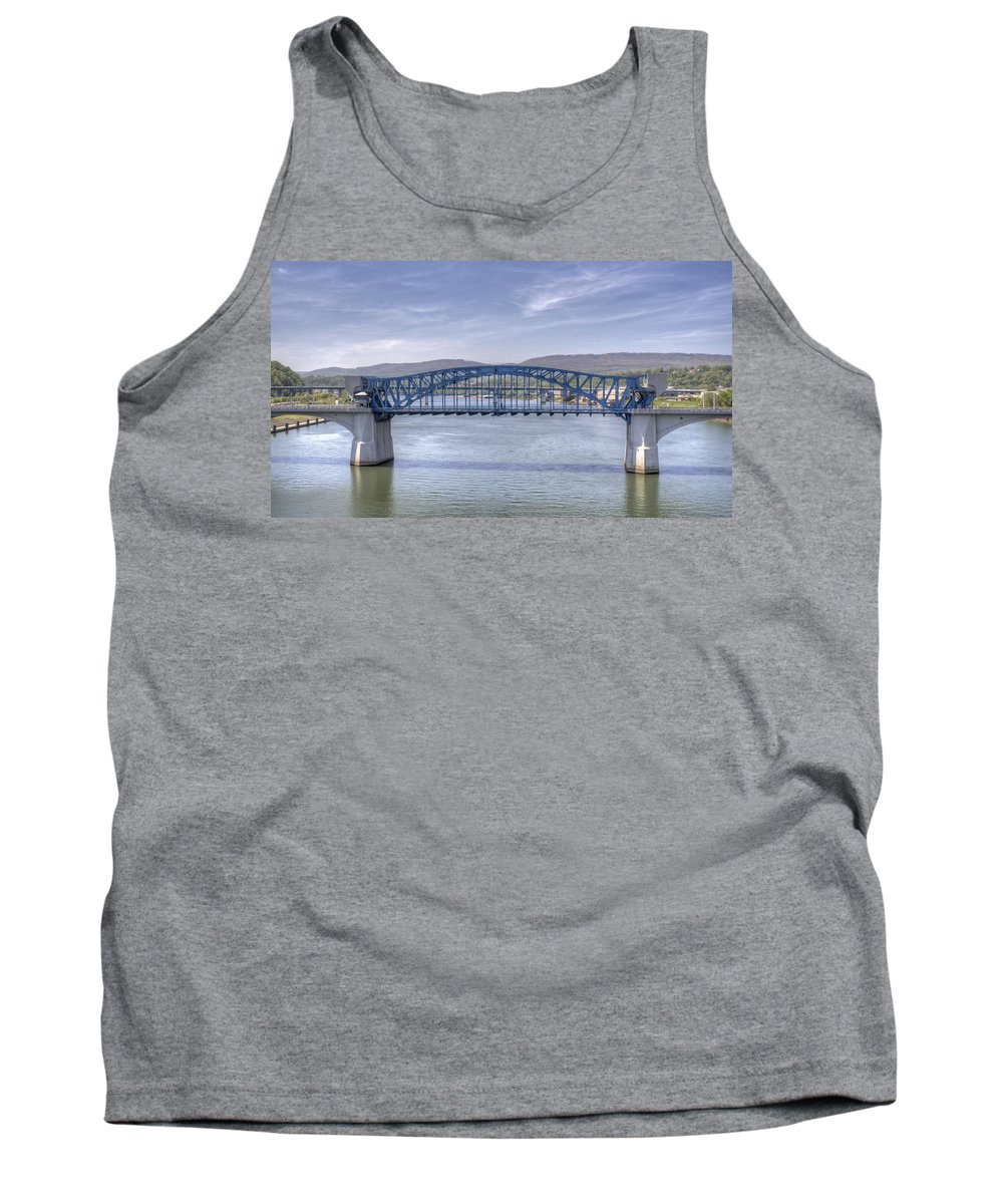 Chattanooga Tank Top featuring the photograph Market Street Bridge by David Troxel