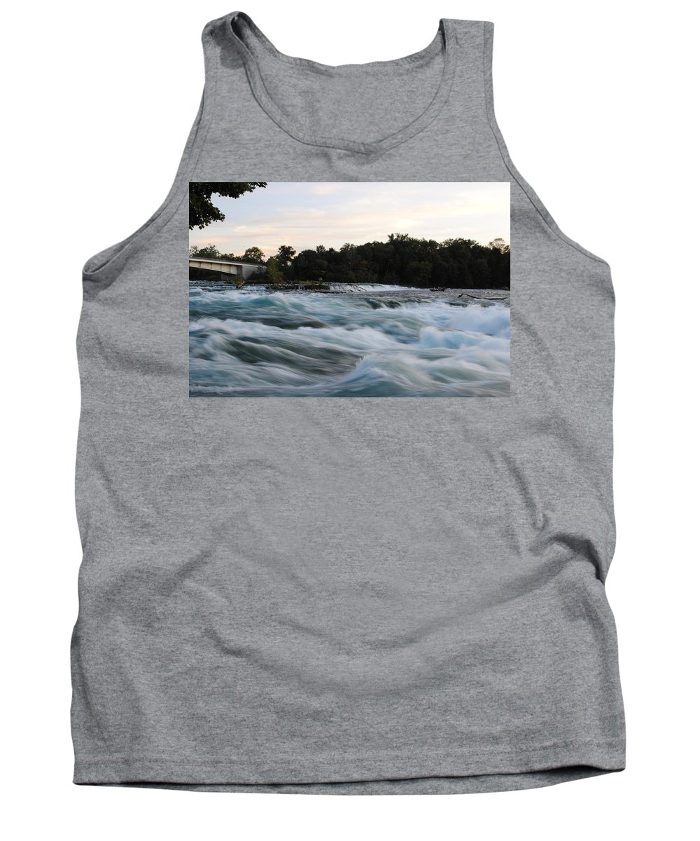 Tank Top featuring the photograph Rapids by Michael Frank Jr