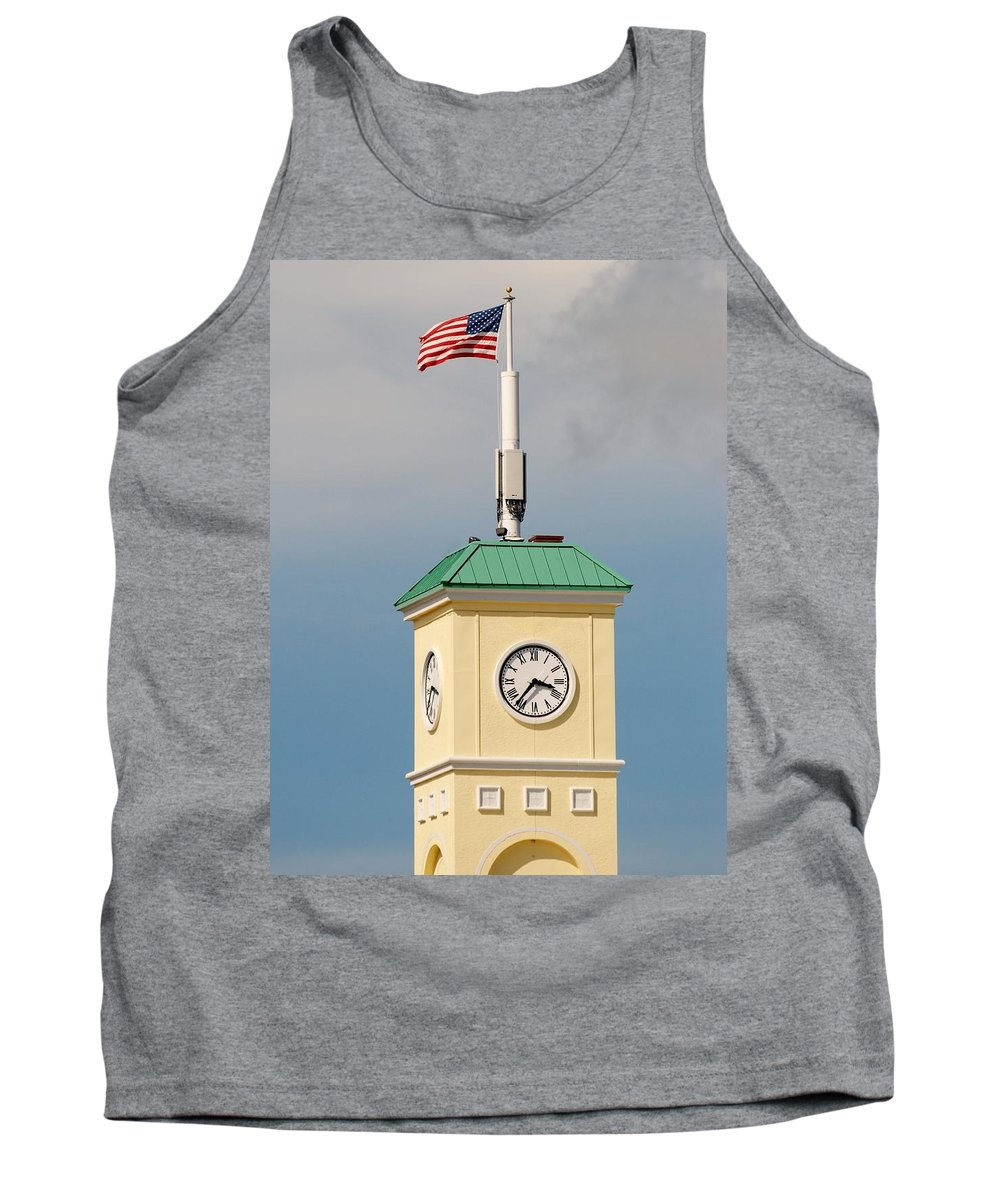 Clocktower Tank Top featuring the photograph Save The Clock Tower by Rob Hans