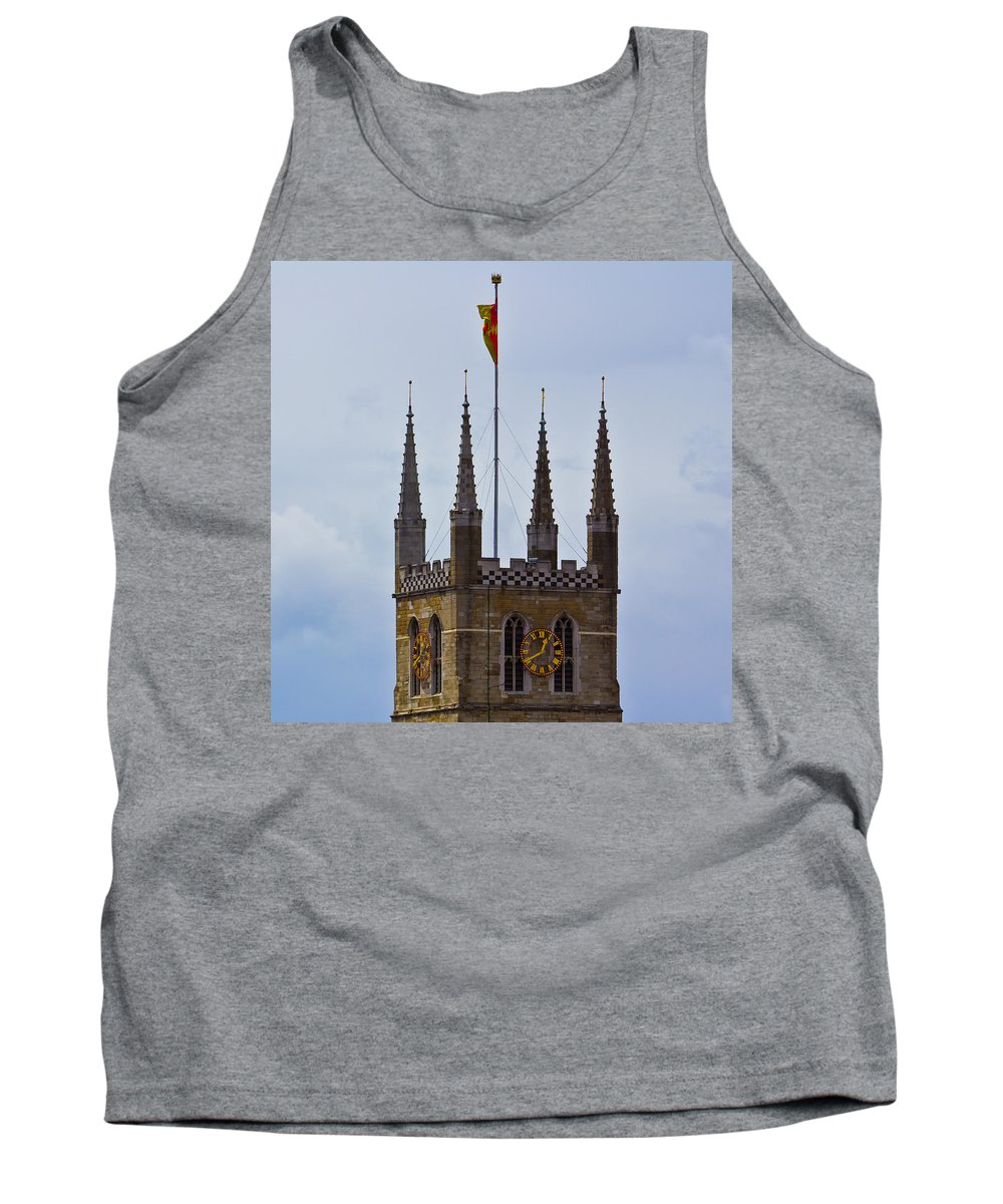 London Tank Top featuring the photograph Southwark Cathedral London by David Pyatt