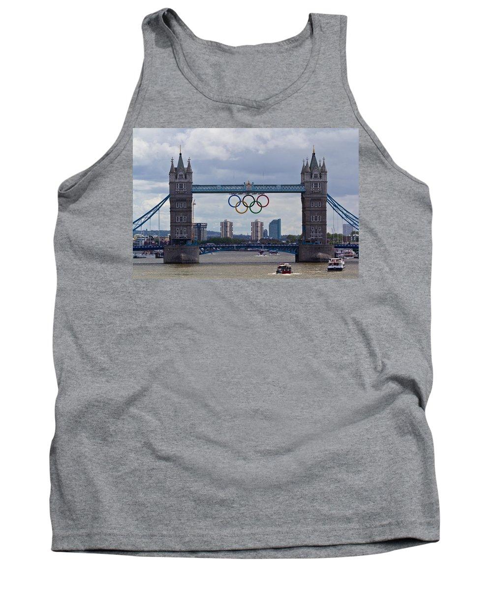 Olympics Tank Top featuring the photograph Tower Bridge by David Pyatt