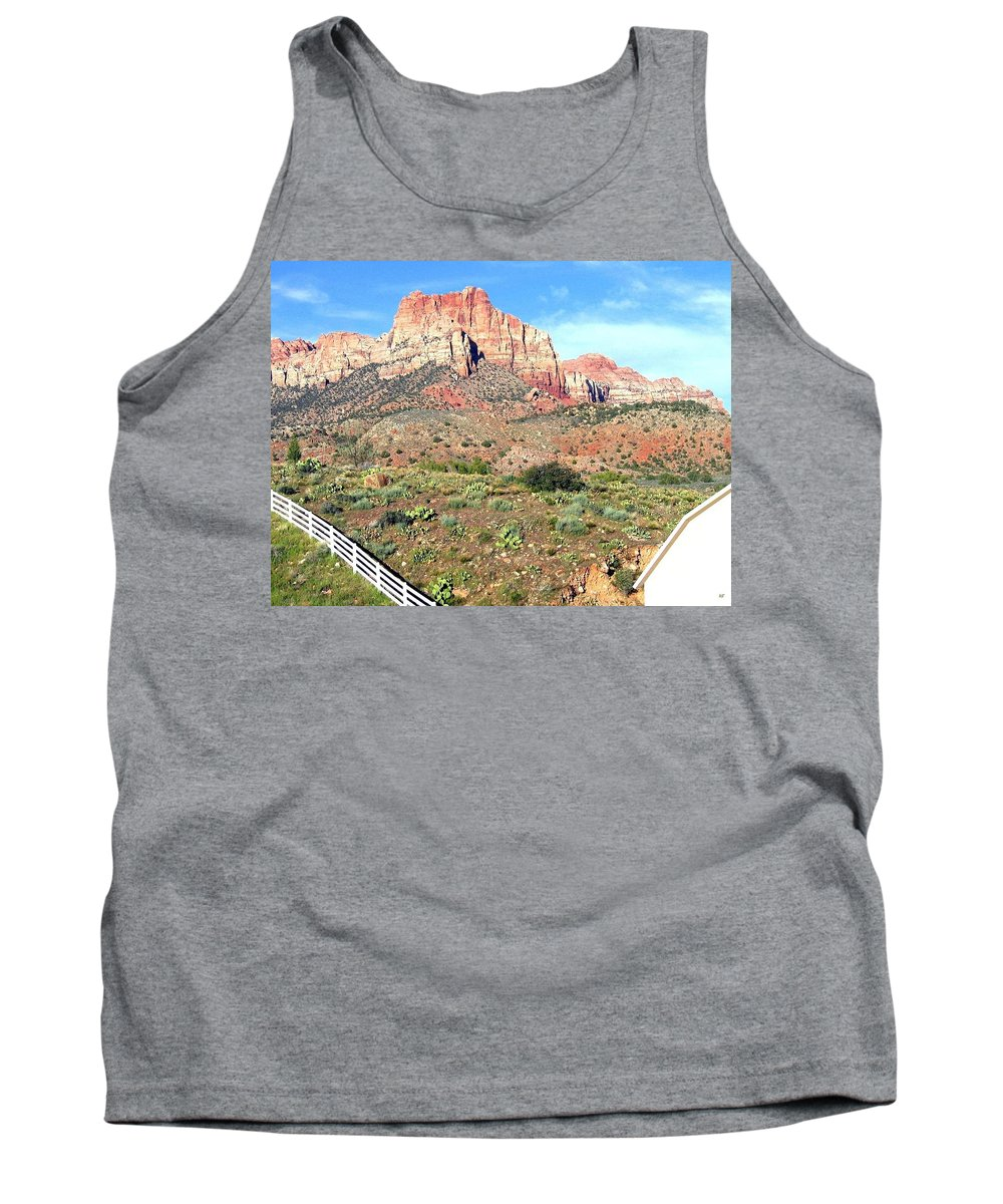 Utah Tank Top featuring the photograph Utah Cactus Field by Will Borden