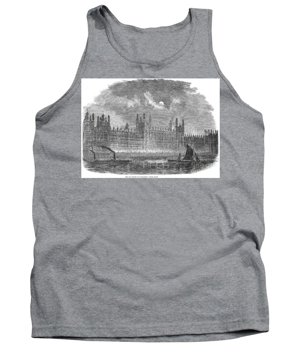 1852 Tank Top featuring the photograph Great Britain: Parliament by Granger