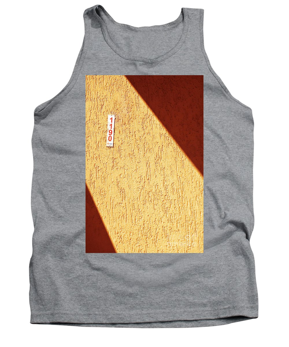 Wall Tank Top featuring the photograph 1190 by Silvia Ganora