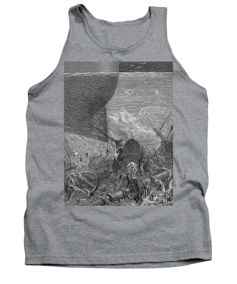 19th Century Tank Top featuring the photograph Coleridge: Ancient Mariner by Granger