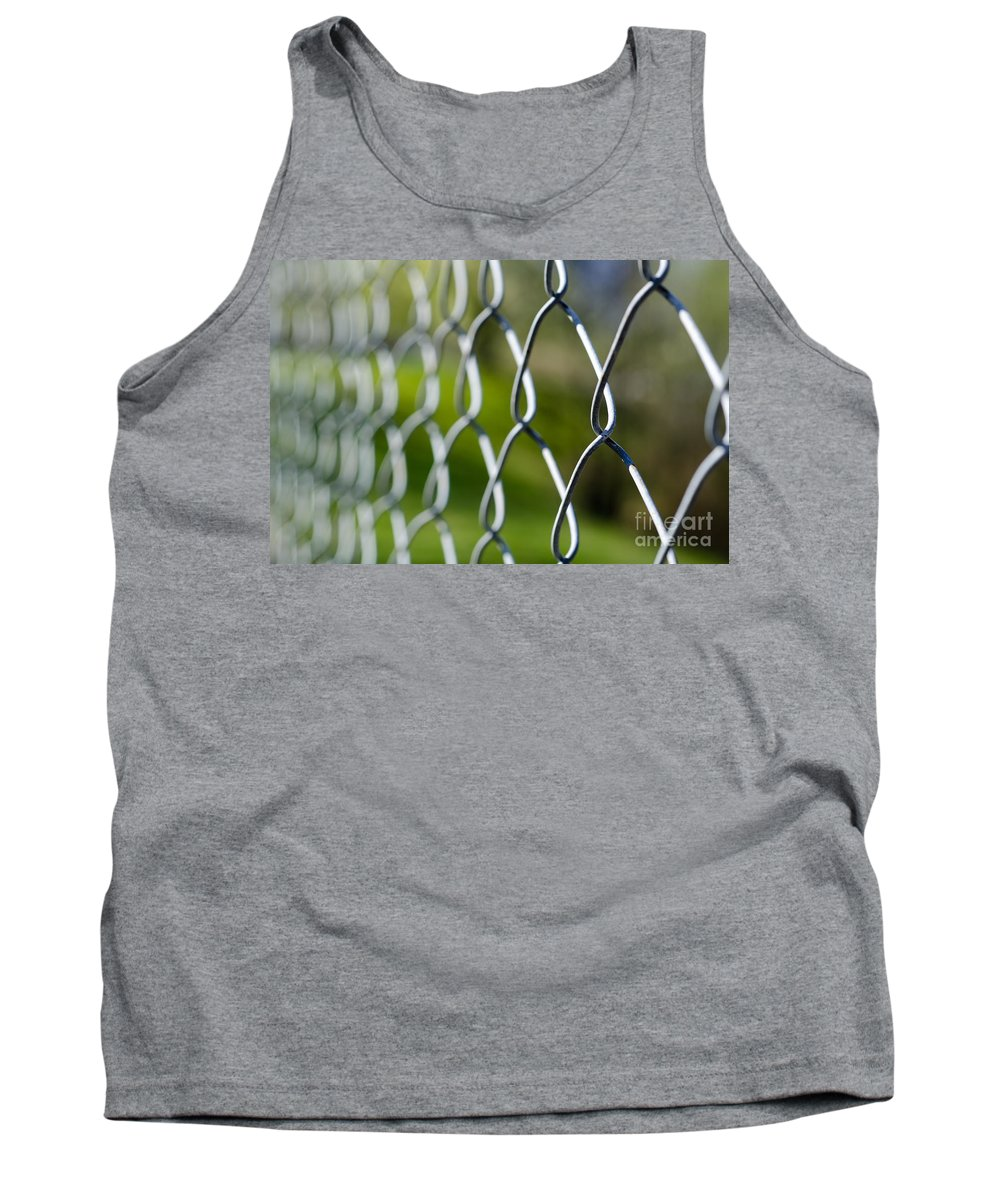 Fence Tank Top featuring the photograph Fence by Mats Silvan