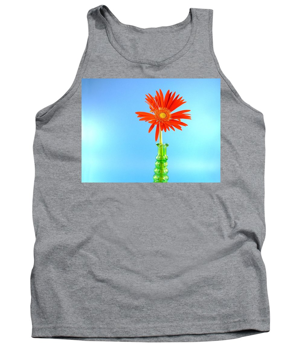 Gerbera Photographs Tank Top featuring the photograph 2286c1 by Kimberlie Gerner