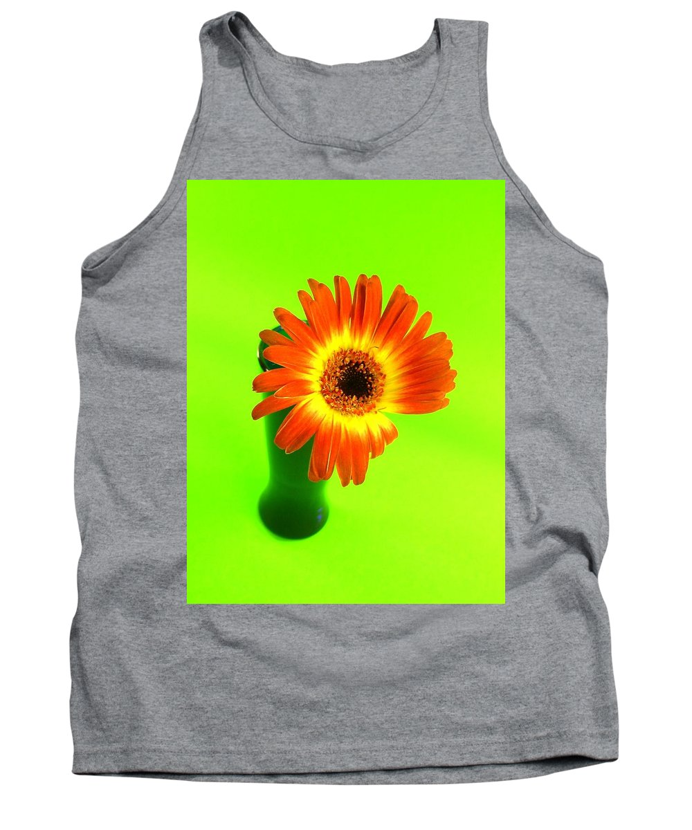 Gerbera Photographs Tank Top featuring the photograph 2317c by Kimberlie Gerner