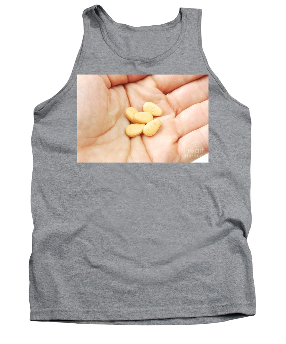 Medical Tank Top featuring the photograph Diovan by Photo Researchers, Inc.