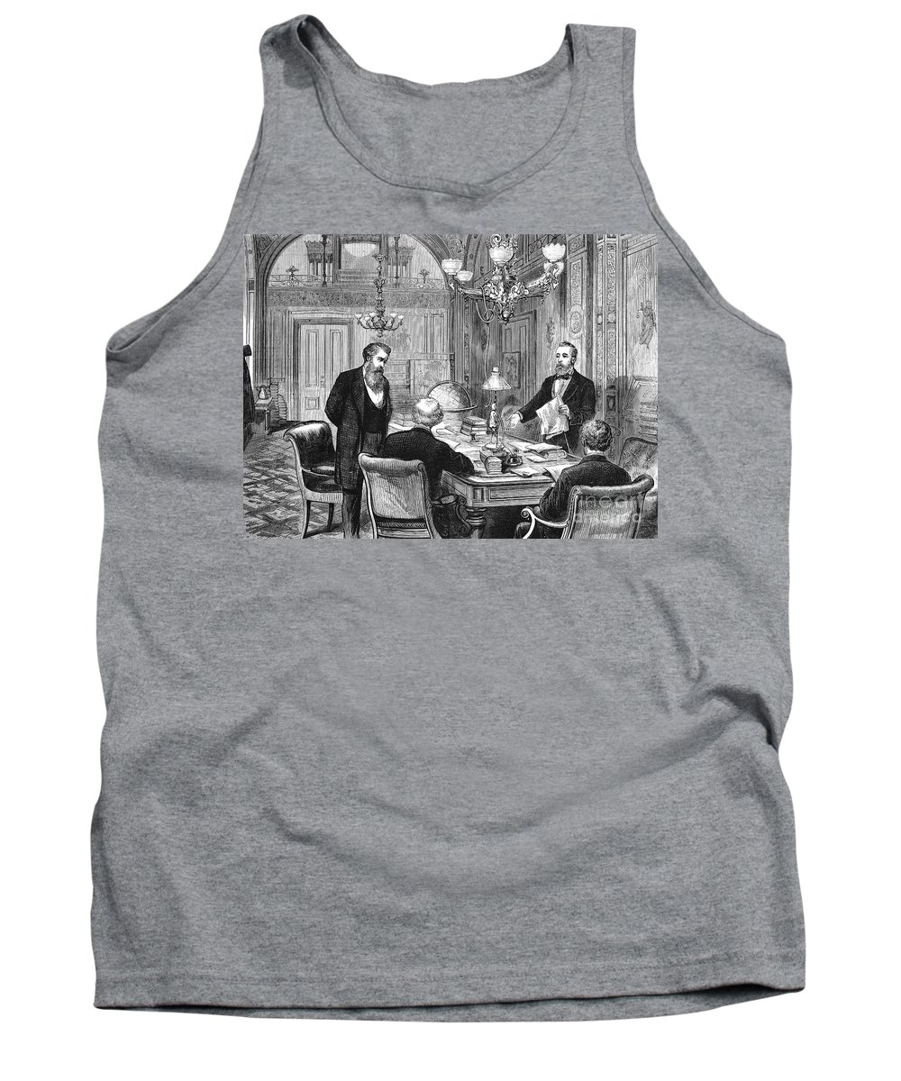 19th Century Tank Top featuring the photograph William Worth Belknap by Granger
