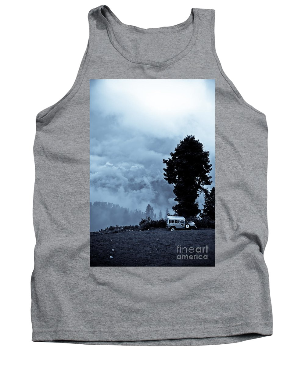 Travel Tank Top featuring the photograph A Dreamlike View by Syed Aqueel
