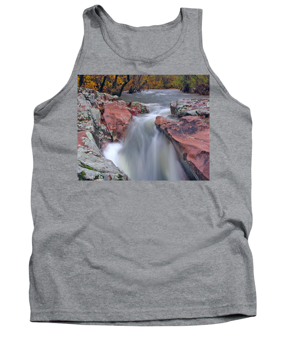 Castor River Tank Top featuring the photograph Above The Castor River Shut Ins II by Greg Matchick