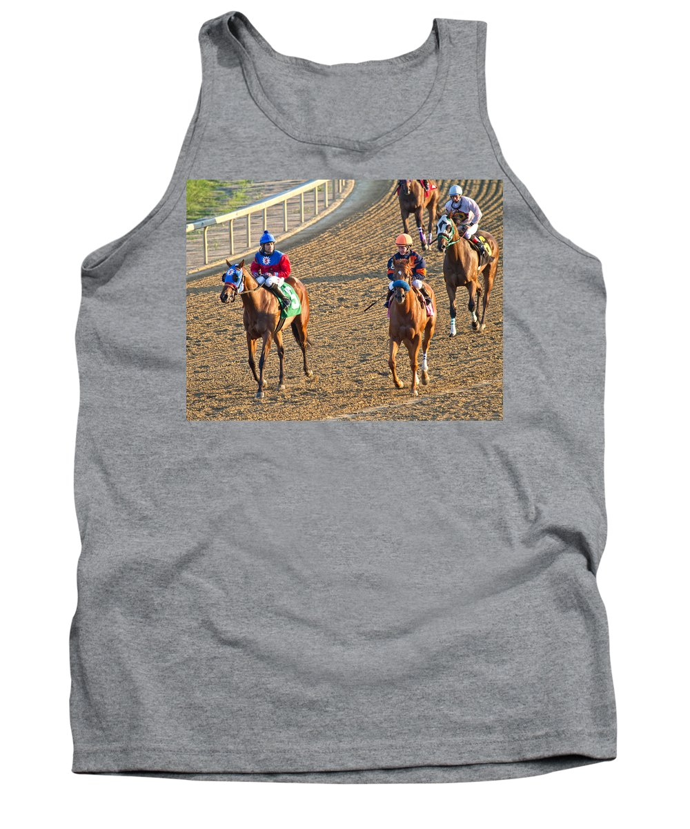 Horse Tank Top featuring the photograph Afterwards by Betsy Knapp